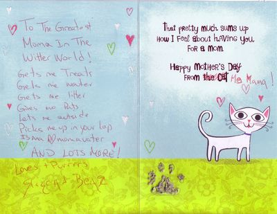 Rascalbear's Mama's Day card 2012.